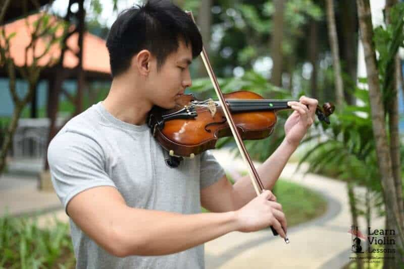 adult violin class in singapore