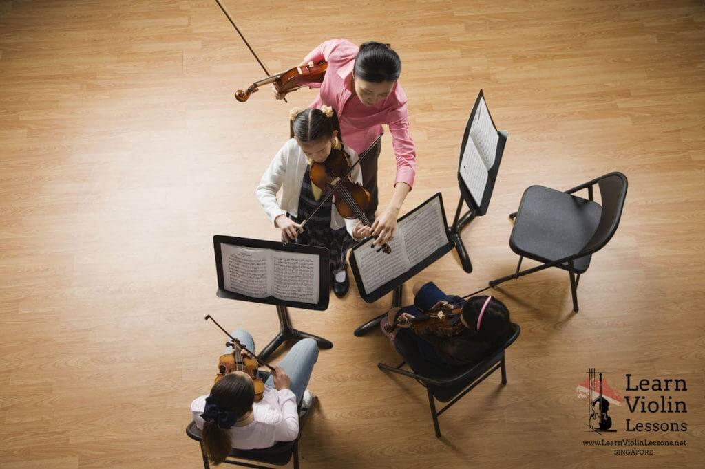 teach violin singapore