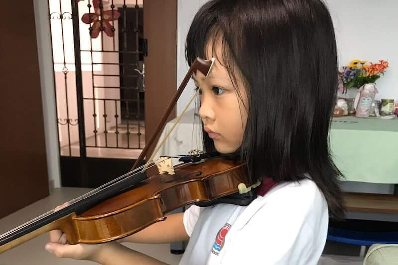 kids violin lesson singapore