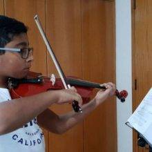 violin teacher for kids in singapore