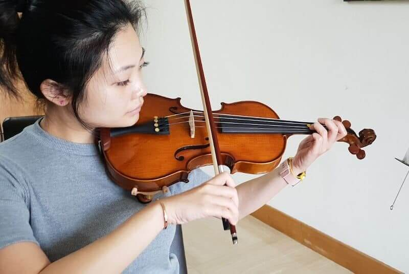 fees for violin classes in Singapore