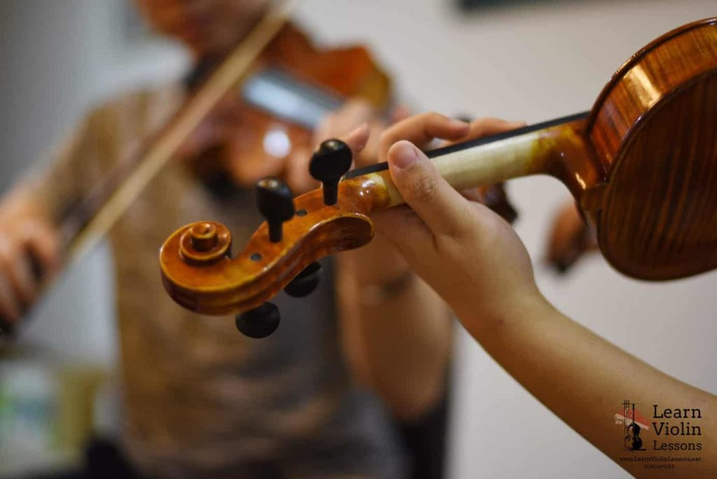 violin class fees Singapore