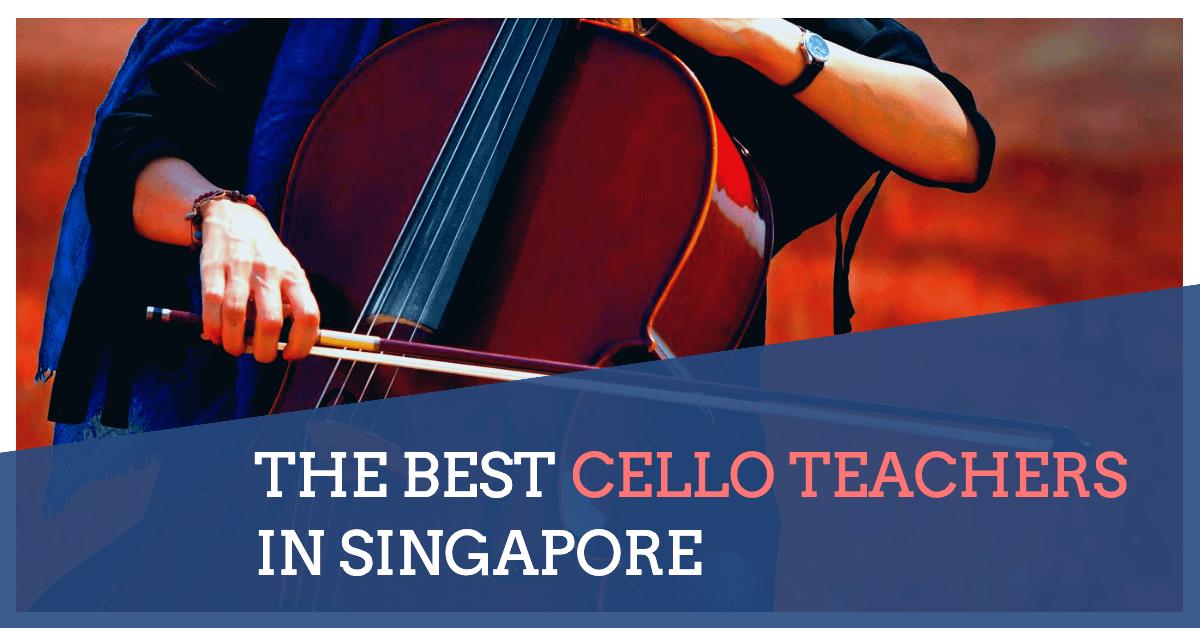 best cello teacher in singapore