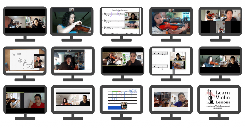 online violin lessons in singapore