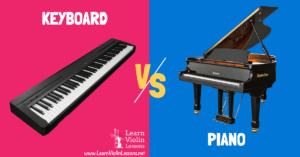 keyboard vs piano difference
