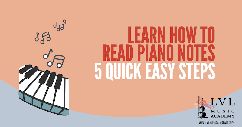 read piano notes and sheet music