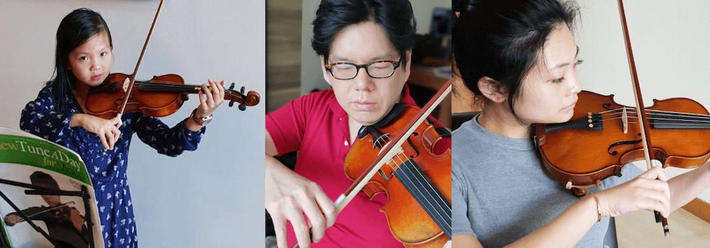 sg violin teacher
