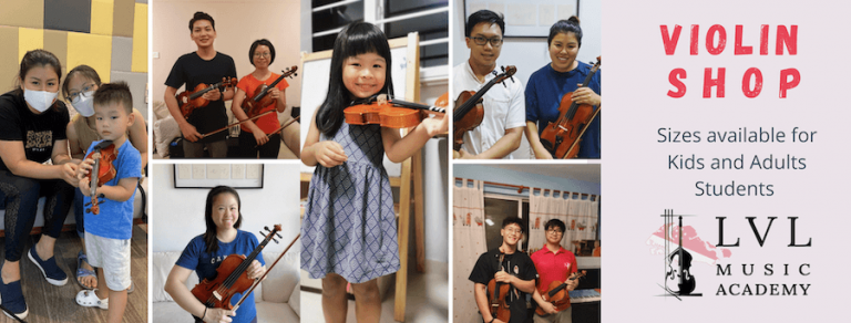 Violin Sizes For All Age Groups
