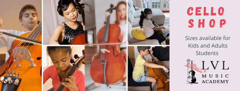 Cello Sizes For All Age Groups