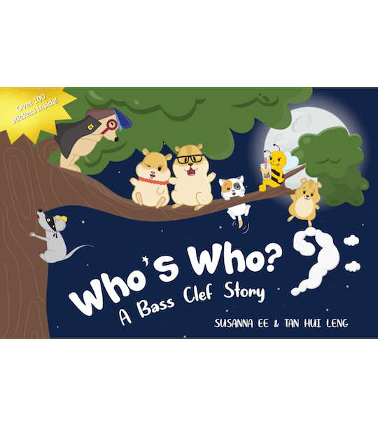 Who's Who A Bass Clef Story Book