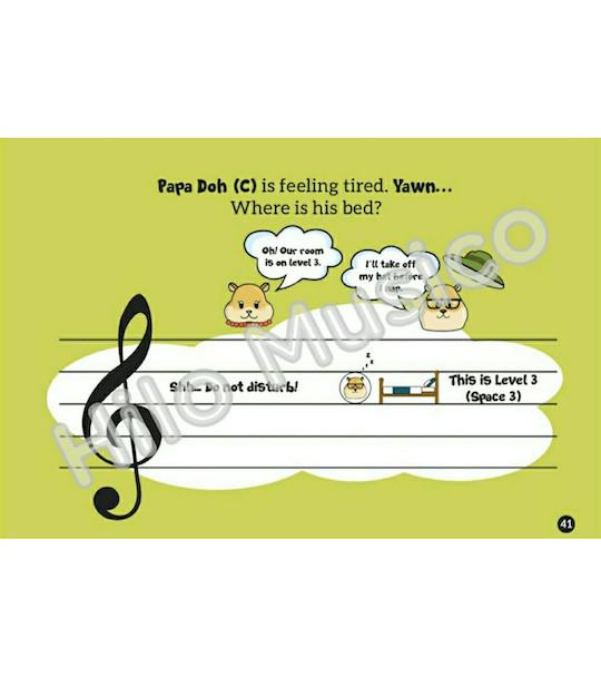 Treble Clef Music Book