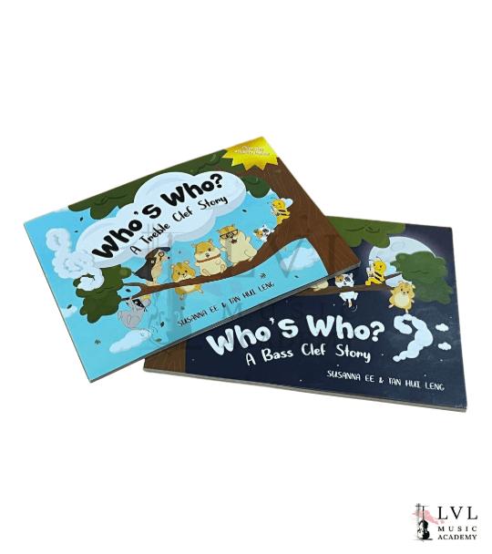 Who's Who Story Books Bundle