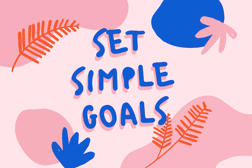 set goals for practicing piano