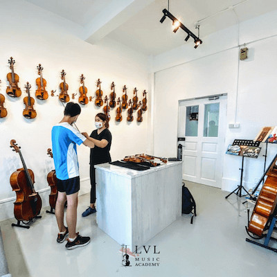music class in Singapore by LVL Music Academy