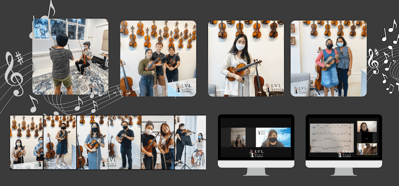 Violin school for adults in Singapore