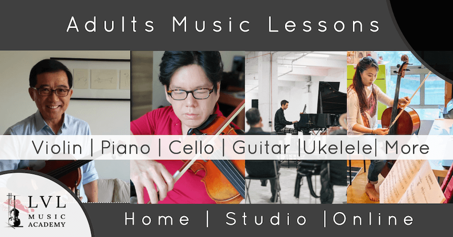 music lessons for adults in Singapore
